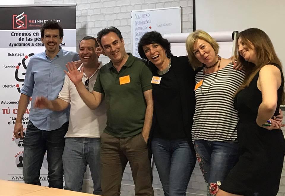 Foto de los mentores de la jornada ADE