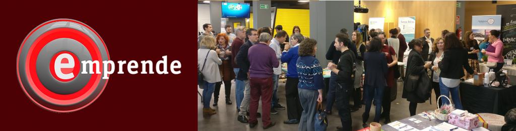 Noticia Feria AECS en Emprende de RTVE