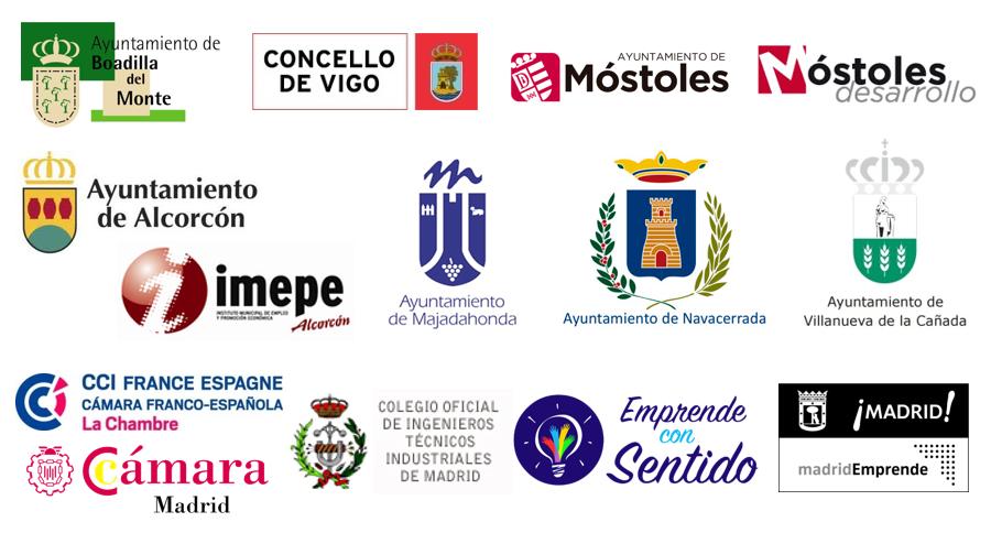 Logos organismos colaboración Reinnovatio
