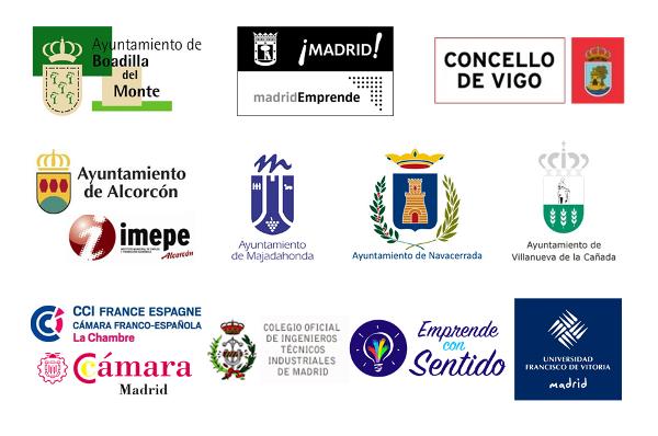 Logos organismos colaboracion Reinnovatio