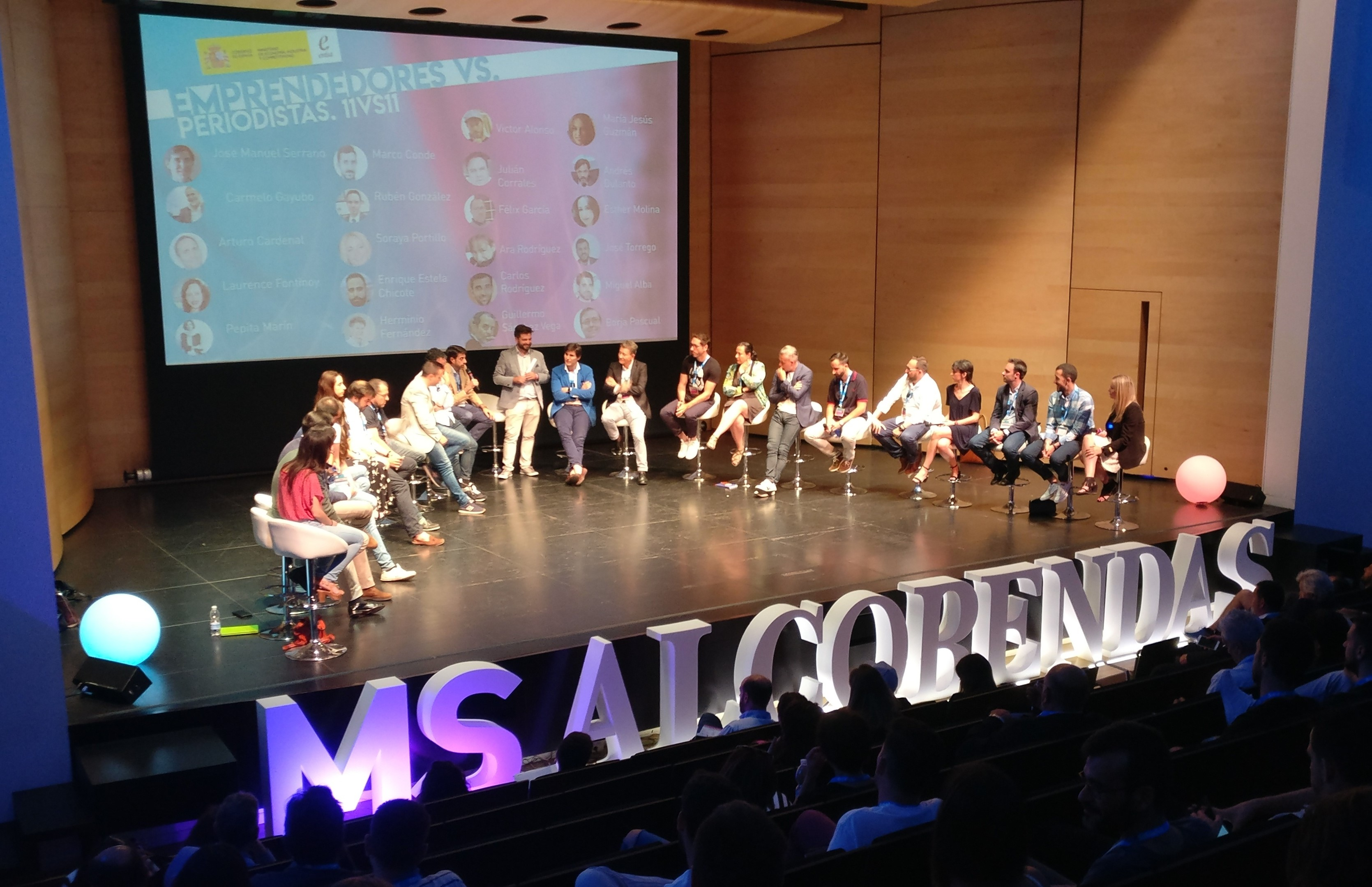 Mesa redonda 11 vs 11 MS Alcobendas