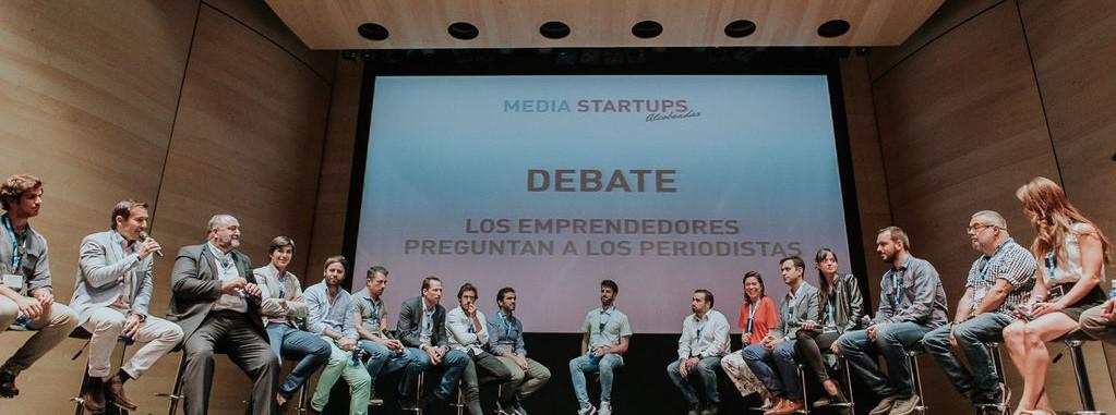 Mesa redonda Media Startups Alcobendas 2017